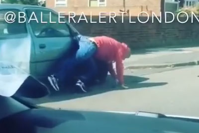 Man Gets Run Over After Road Rage With Another Driver