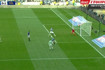 Moussa Dembele Shows His Football Skills When Scores A Goal