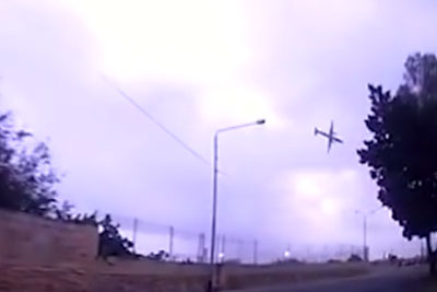 Dashcam Captured A Tragic Plane Crash On Malta