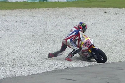 This Unlucky Rider Experiences Absolute Nightmare At Malaysian GP