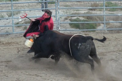 Insane Bull Fight Challenge Leaves Prankster Vitaly With A Broken Jaw