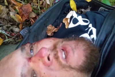 Guy Crashes Motorcycle In Remote Area, Records His Final Goodbyes After Thinking He Is Going To Die