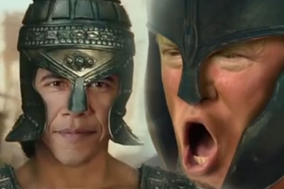 This Troy Movie Parody With Trump, Hillary And Obama Is Hilarious