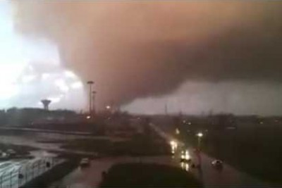 Tornado Striked Rome In Italy Yesterday, Here Is The Footage