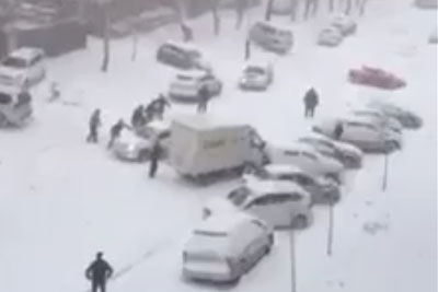 This Is What Happens In Russia After The First Snow