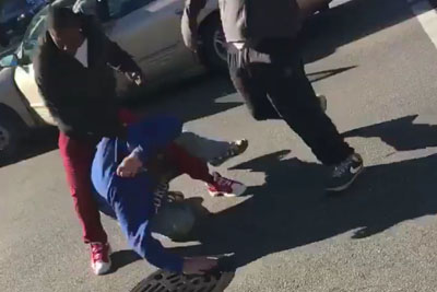 This Poor Old Man Got Beaten By Two Black Guys Just Because He Voted For Trump