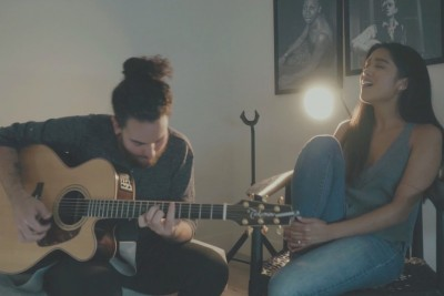 This Cover Of 'What Is Love' Performed By Husband And Wife Is Like A Fairy Tale