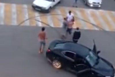 Careless BMW Driver From Romania Gets In A Road Rage After Doing This