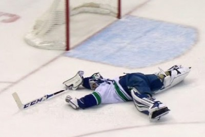 This Could Possibly Be The Best Hockey Save Ever