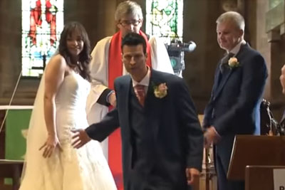 Bride And Groom Stand At The Altar, Then He Suddenly Runs From Church And Leaves Her There