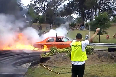This Might Be The Best Burnout Ever Captured On Film