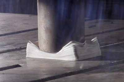 Pressing A Deck Of Playing Cards With Hydraulic Press Captured In Super Slow Motion