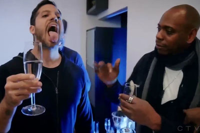 David Blaine Freaks Out Steph Curry, Jimmy Butler, Dave Chappelle And Drake With Crazy Trick