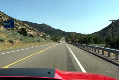 """This Road In New Mexico Plays """"America The Beautiful"""" If You Obey Speed Limit"""