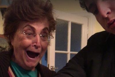 Magician Pranks His Grandma With Hilarious Magic Trick