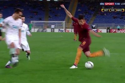 One Of The Best Goals Scored In Europa League By Roma's Diego Perotti
