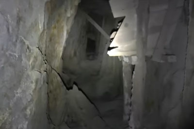 Guy Goes To Explore The Waldeck Mine, Encounters Creepy Chanting Sounds On His Way Out