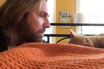 Cat Woke Up Owner Every Night With Her Annoying Meowing - Now It Was Time For A Revenge