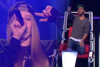 Young Girl Makes All The Judges At The Voice Kids Stand Up While Singing Jessie J's Song