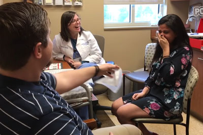 Moments After Hearing For The First Time, This Girl Gets Another Big Surprise