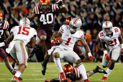 Ohio State Football Player Braxton Miller Did A Video Game Level Spin Move