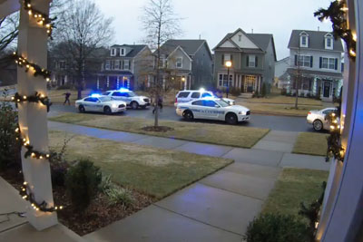 Police Chase Ends in Car Crash in Charlotte's Brightwalk Neighborhood