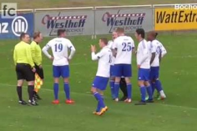 Moment Of Fair Play By German League Footballer Toni Munoz After Being Awarded A Penalty
