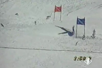 Skier From Marocco Will Make You Burst In Tears Of Laughter After Seeing His Run