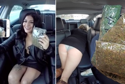 Selling Massive Amounts Of Marijuana While Driving For Uber Prank