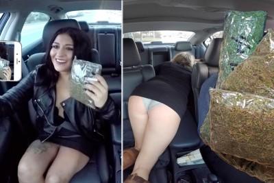 Selling Massive Amounts Of Marijuana While Driving For Uber Prank