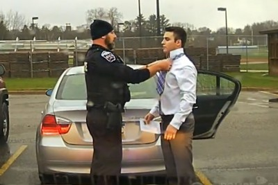 You Won't Believe What This Cop Did To A Student After Pulling Him Over For Speeding