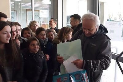 He Was A Teacher For 38 Years And Now He Retired - This Is The Surprise He Will Never Forget