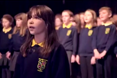 """Special Needs Schoolgirl Reduces Adults To Tears While Singing """"Hallelujah"""" Song"""