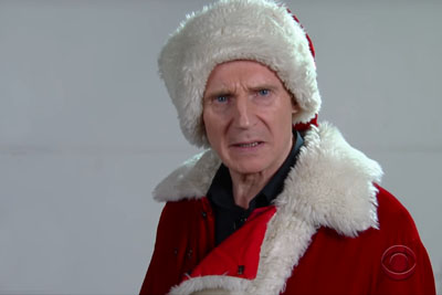 Liam Neeson Auditions For Mall Santa Claus Is Totally Hilarious