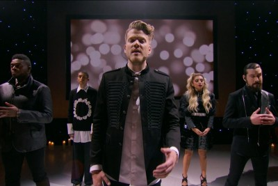 """Acapella Group Pentatonix Sings Us """"Hallelujah"""" Once Again For A Christmas Special"""