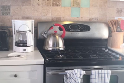 Guy Waiting For His Boiling Water Is Trolled By His Roommate