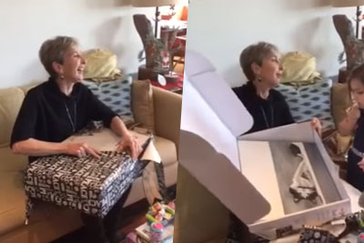 This Mom's Cat Passed Away This Year - Now She Got The Best Christmas Present From Her Daughter