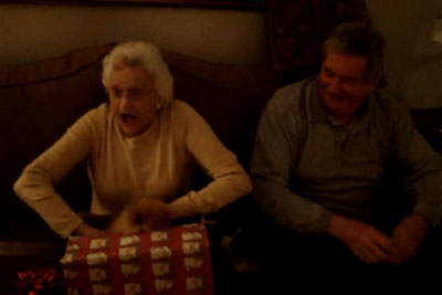 Grandma Gets Puppy For Christmas, Son's Captured Footage Has Everyone In Laughter
