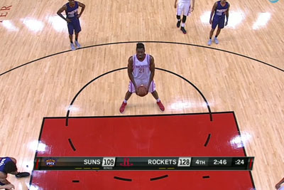 NBA Player Onuaku Sinks First Career Free Throws Underhanded