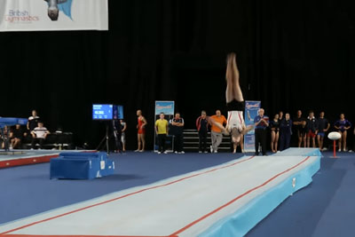 This British Gymnast Is An Example What Is Human Body Capable Of