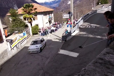 This Is The Turn No Rally Driver Could Make It, Then Renault 5 Driver Stole The Show