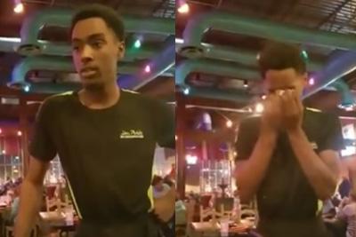 Man Gives Hard Working Waiter A $300 Tip