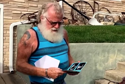 Best Grandpa Reaction To Baby Announcement