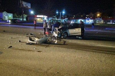 Drunk Driver Smashes Head-On Into Oncoming Traffic