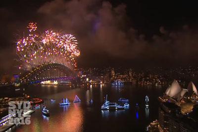 Amazing Sydney New Years Eve Fireworks