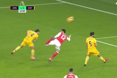Olivier Giroud's Goal Is Definitely The Best Goal In Year 2017