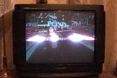 This Is How Old CRT TV Screen Looks Like In Super Slow Motion