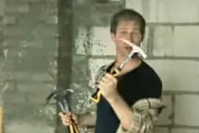 Crazy Hammer Trick By This German Man Will Totally Stun You