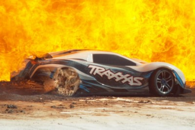 This Is How A RC Car Looks Like In Slow Motion At 10Mph