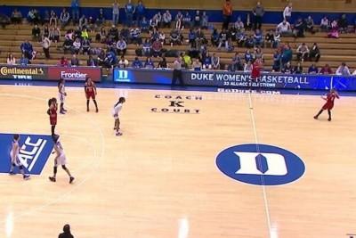Louisville Women's Team Tricks Duke Into Defending The Wrong Basket